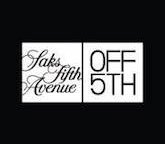 Discount, free online Coupon, promo for Saks Fifth Avenue OFF 5TH